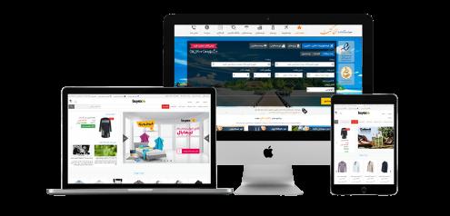 نمونه کارهای طراحی سایت و طراحی وب سایت فانوس
