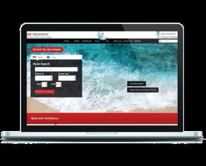 طراحی وب سایت رزرو هتل