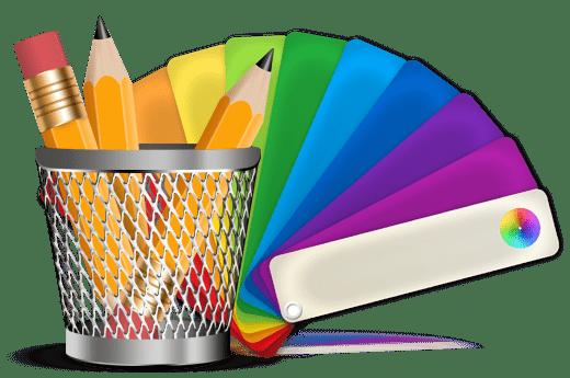 طراحی گرافیک سایت