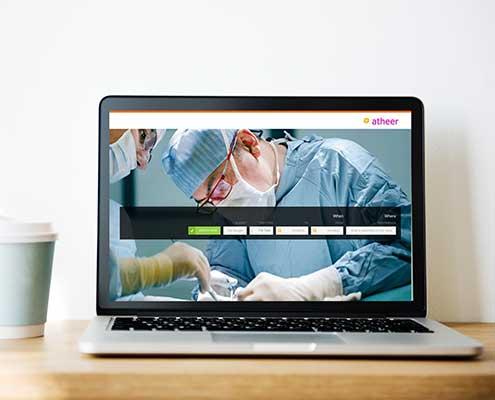 نمونه طراحی وب پزشکی | شرکت توریسم درمانی الاسیر بیوتی | فانوس وب