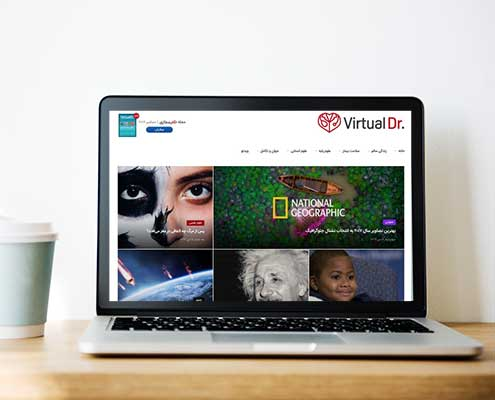 ساخت وب پزشکی | دکتر مجازی | شرکت طراحی وب سایت فانوس