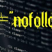 استفاده از تگ nofallow برای لینک های خاص