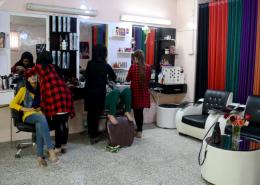 طراحی سایت آرایشگاه زنان