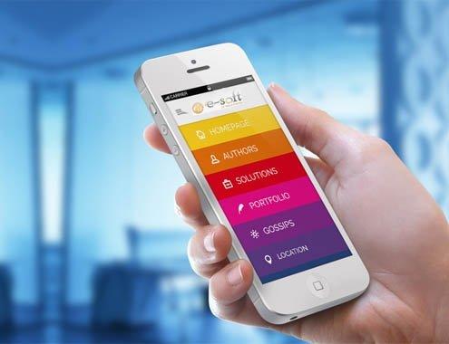 اپلیکیشن تلفن همراه